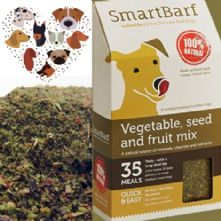 SmartBarf Food Supplement to Support Raw Fed Dogs